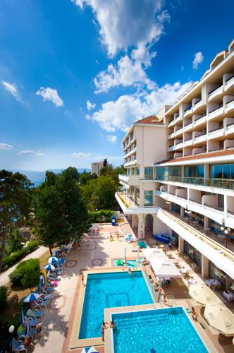 Hotel Excelsior   Lovran   Kroatien   Sommer 2018.